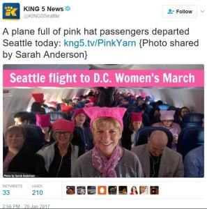 Hats on plane